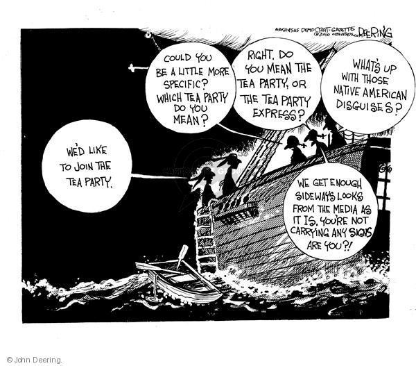 Cartoonist John Deering  John Deering's Editorial Cartoons 2010-07-20 boat