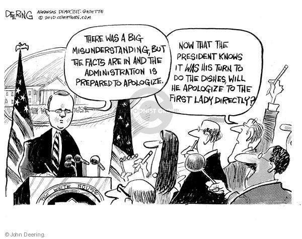 Cartoonist John Deering  John Deering's Editorial Cartoons 2010-07-27 first lady