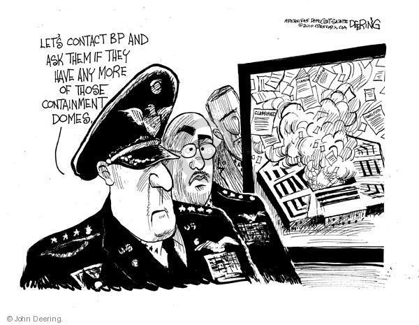Cartoonist John Deering  John Deering's Editorial Cartoons 2010-08-02 secret