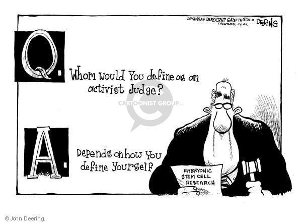 John Deering  John Deering's Editorial Cartoons 2010-08-26 decision