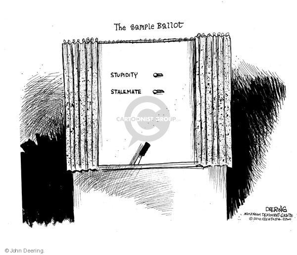John Deering  John Deering's Editorial Cartoons 2010-09-09 stupid