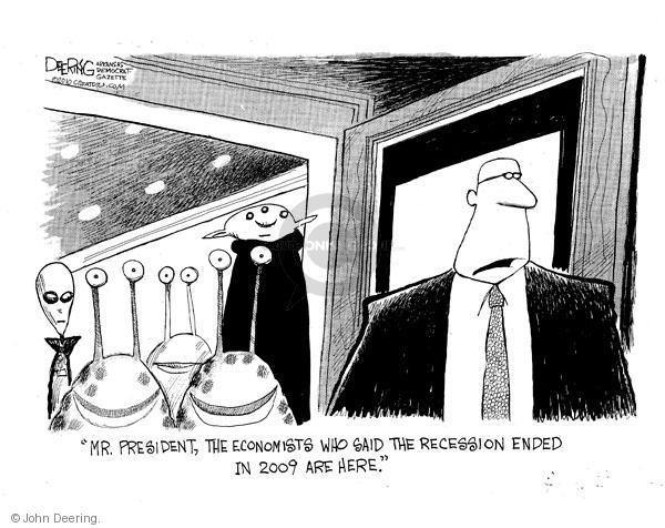 Cartoonist John Deering  John Deering's Editorial Cartoons 2010-09-23 recession