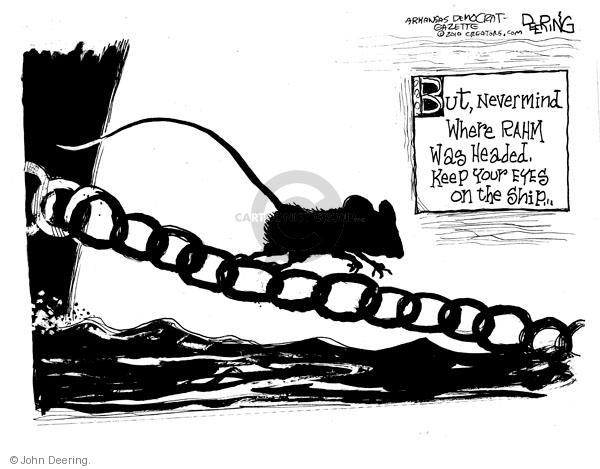 Cartoonist John Deering  John Deering's Editorial Cartoons 2010-10-03 chief of staff