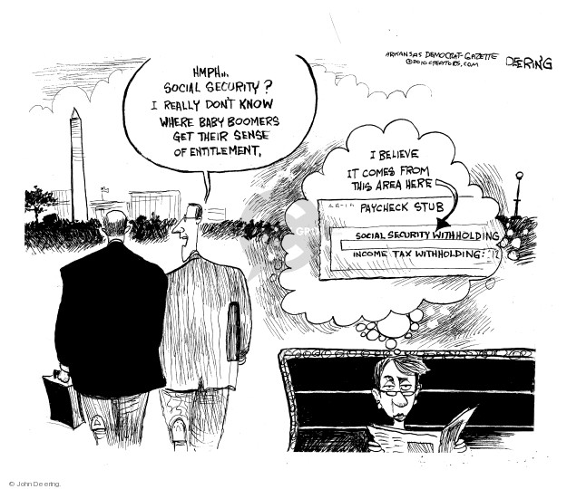 John Deering  John Deering's Editorial Cartoons 2010-10-18 tax withholding