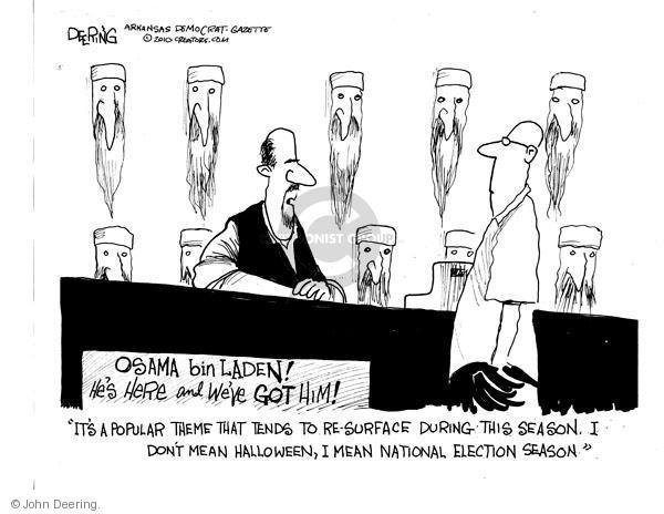 John Deering  John Deering's Editorial Cartoons 2010-10-19 midterm election