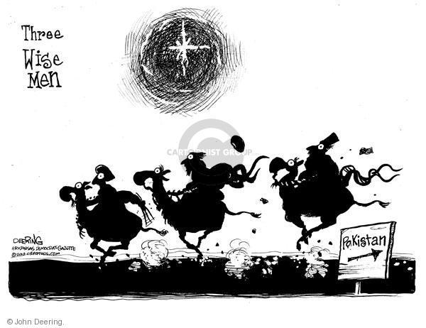 Cartoonist John Deering  John Deering's Editorial Cartoons 2010-12-23 man