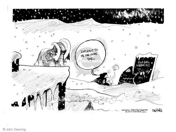 John Deering  John Deering's Editorial Cartoons 2010-12-29 environment