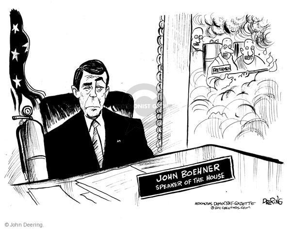 Cartoonist John Deering  John Deering's Editorial Cartoons 2011-01-06 partisan politics