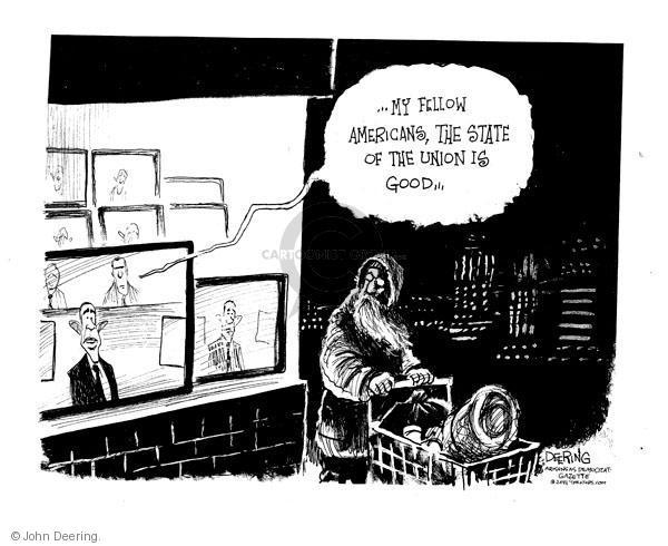 John Deering  John Deering's Editorial Cartoons 2011-01-27 state politician