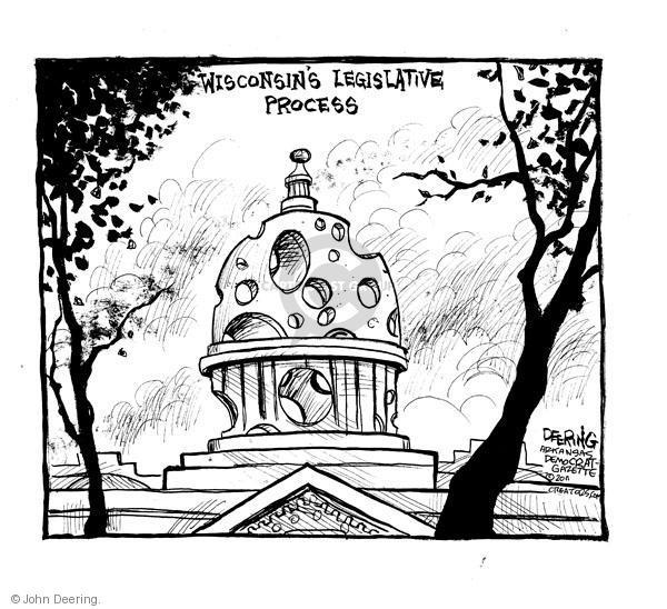 John Deering  John Deering's Editorial Cartoons 2011-02-21 labor