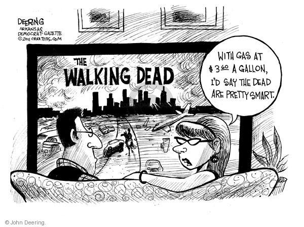 Cartoonist John Deering  John Deering's Editorial Cartoons 2011-03-08 gas