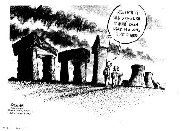 John Deering  John Deering's Editorial Cartoons 2011-03-15 environment