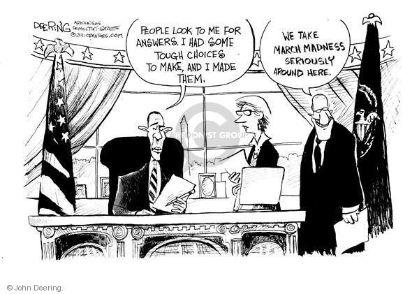 John Deering  John Deering's Editorial Cartoons 2011-03-18 NCAA