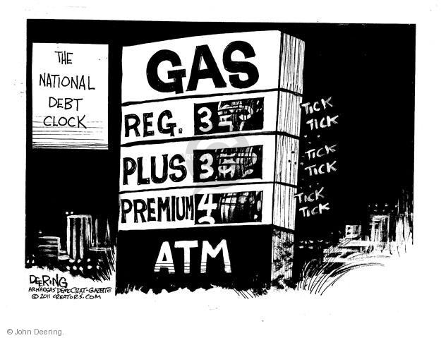 Cartoonist John Deering  John Deering's Editorial Cartoons 2011-04-30 gas