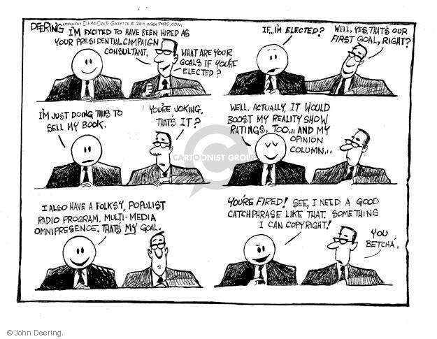 Cartoonist John Deering  John Deering's Editorial Cartoons 2011-05-14 television program