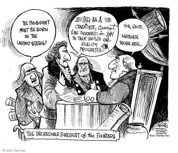 Cartoonist John Deering  John Deering's Editorial Cartoons 2011-05-18 change