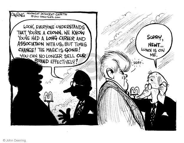 Cartoonist John Deering  John Deering's Editorial Cartoons 2011-05-23 Mitch McConnell