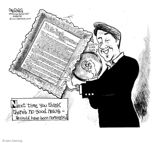John Deering  John Deering's Editorial Cartoons 2011-05-26 Constitution