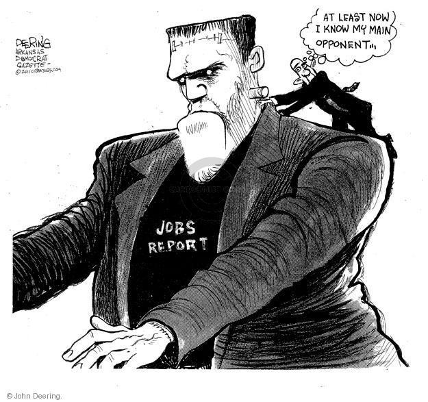 Cartoonist John Deering  John Deering's Editorial Cartoons 2011-06-06 unemployed