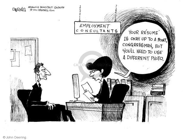 Cartoonist John Deering  John Deering's Editorial Cartoons 2011-06-09 social media politics
