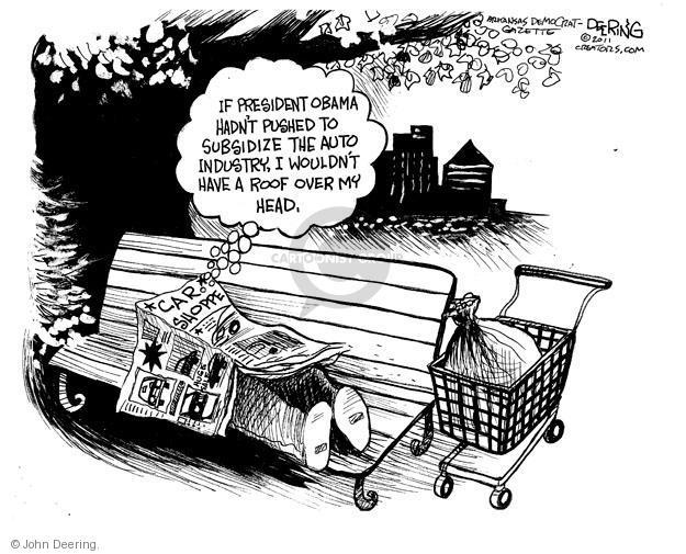 Cartoonist John Deering  John Deering's Editorial Cartoons 2011-06-10 unemployment