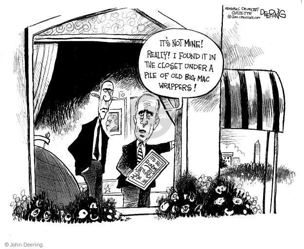 John Deering  John Deering's Editorial Cartoons 2011-06-11 not mine