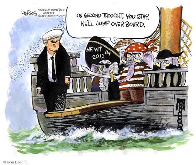 Cartoonist John Deering  John Deering's Editorial Cartoons 2011-06-13 boat