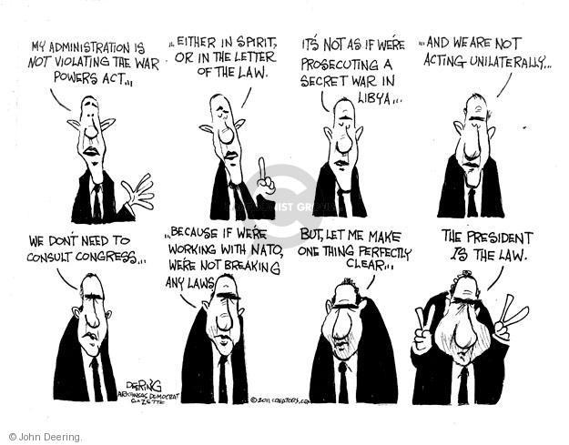 John Deering  John Deering's Editorial Cartoons 2011-06-16 north