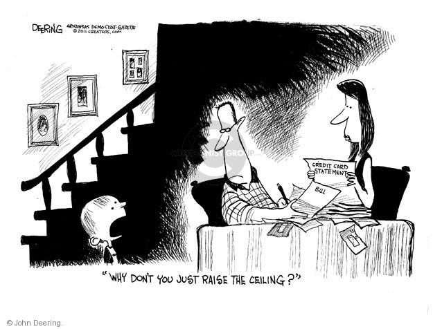 John Deering  John Deering's Editorial Cartoons 2011-07-21 federal debt