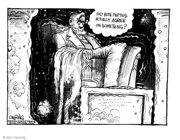 John Deering  John Deering's Editorial Cartoons 2011-08-25 president