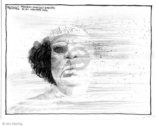 John Deering  John Deering's Editorial Cartoons 2011-08-31 Arab revolt