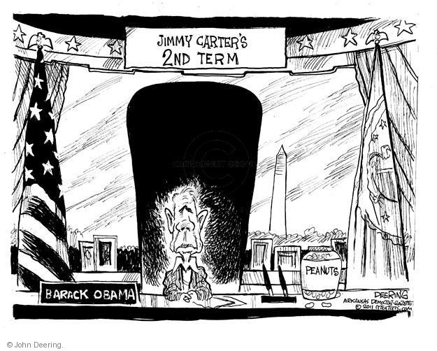 John Deering  John Deering's Editorial Cartoons 2011-10-01 Jimmy Carter