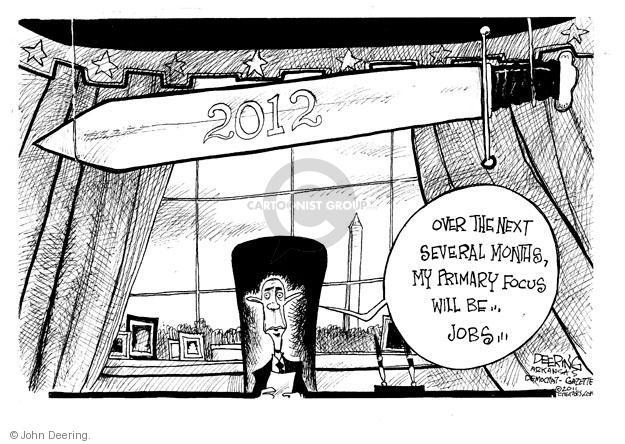 John Deering  John Deering's Editorial Cartoons 2011-10-06 president