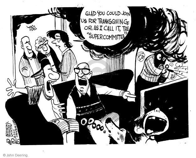 John Deering  John Deering's Editorial Cartoons 2011-11-22 Congress
