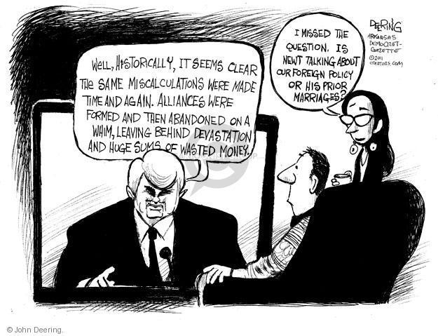 Cartoonist John Deering  John Deering's Editorial Cartoons 2011-12-01 miss