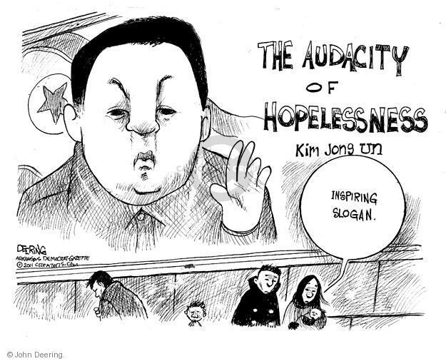 John Deering  John Deering's Editorial Cartoons 2011-12-22 Korea