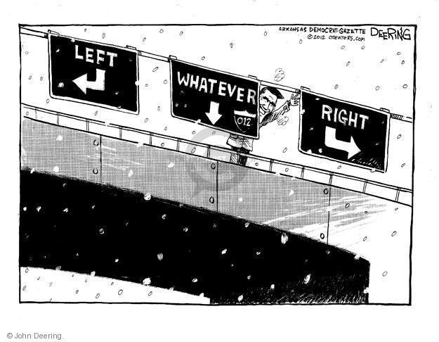 Cartoonist John Deering  John Deering's Editorial Cartoons 2012-01-05 liberal