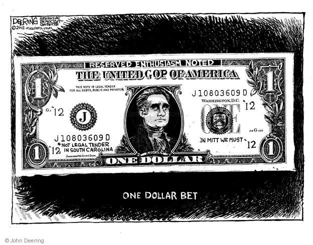 John Deering  John Deering's Editorial Cartoons 2012-01-21 $1.00