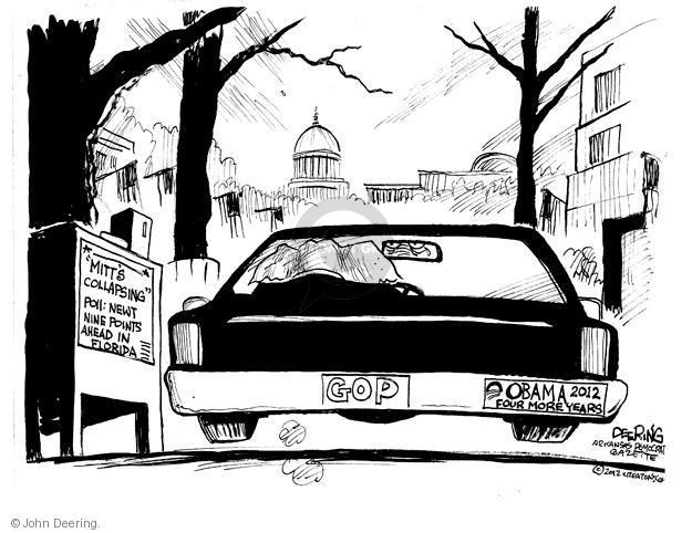 John Deering  John Deering's Editorial Cartoons 2012-01-25 former president