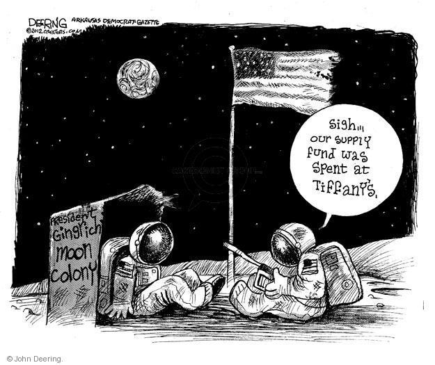 John Deering  John Deering's Editorial Cartoons 2012-01-27 former president
