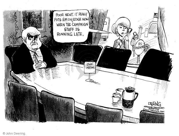 Cartoonist John Deering  John Deering's Editorial Cartoons 2012-02-02 staff
