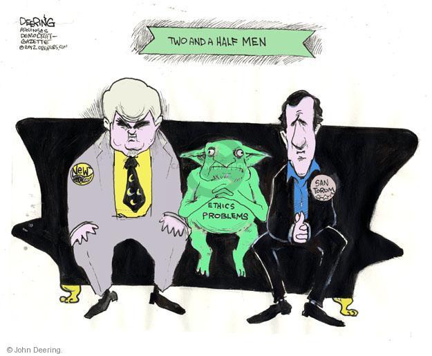 Cartoonist John Deering  John Deering's Editorial Cartoons 2012-02-09 man