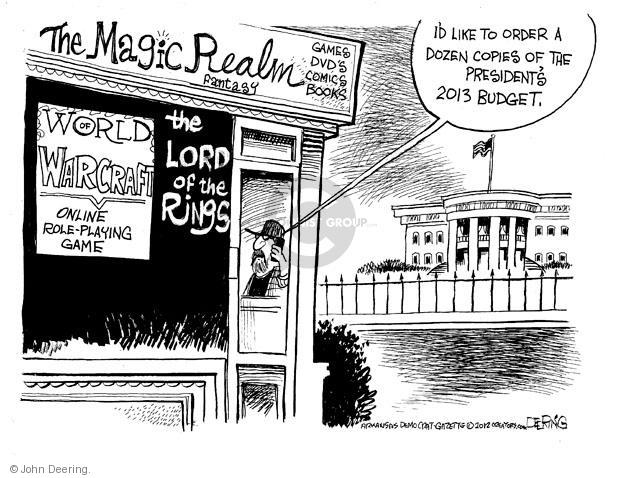John Deering  John Deering's Editorial Cartoons 2012-02-17 president