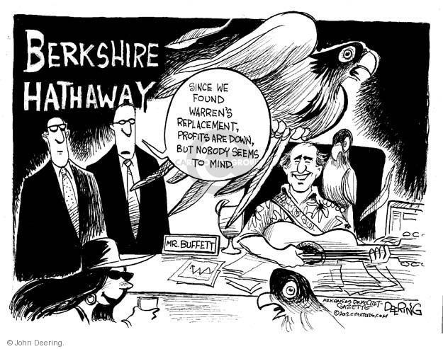 Cartoonist John Deering  John Deering's Editorial Cartoons 2012-02-29 investment