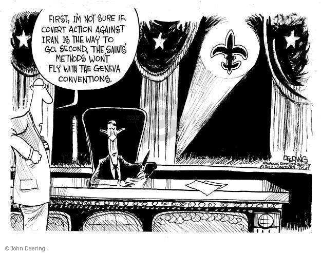 John Deering  John Deering's Editorial Cartoons 2012-03-07 Iran