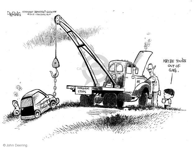 Cartoonist John Deering  John Deering's Editorial Cartoons 2012-03-26 gas