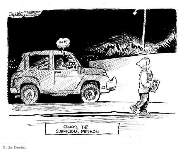 Cartoonist John Deering  John Deering's Editorial Cartoons 2012-03-28 George Zimmerman