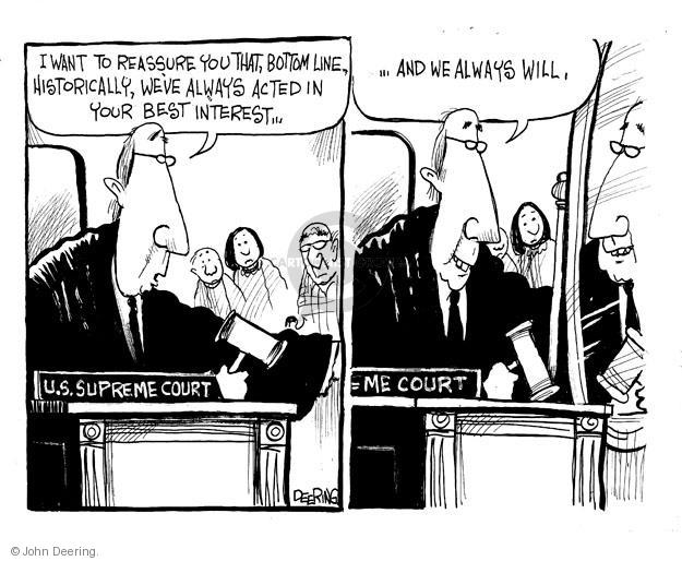 John Deering  John Deering's Editorial Cartoons 2012-04-02 supreme court justice