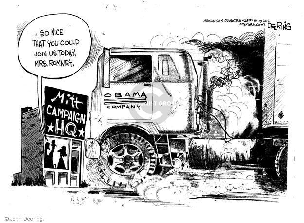 John Deering  John Deering's Editorial Cartoons 2012-04-13 former president