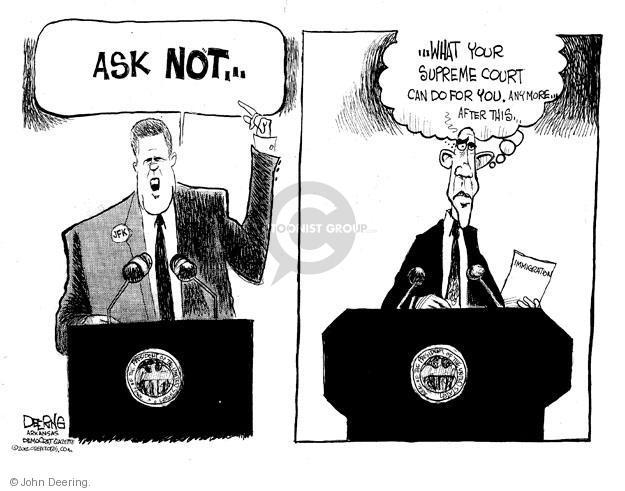 John Deering  John Deering's Editorial Cartoons 2012-04-29 former president